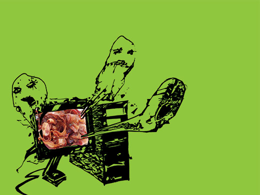 Meat Ghost Lazer Escape